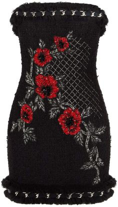 Shop on-sale Strapless embellished tweed mini dress. Browse other discount designer Mini Dress & more luxury fashion pieces at THE OUTNET Gala Dresses, Dresses For Sale, Evening Dresses, Dress Sale, Dress For Short Women, Short Dresses, Mini Dresses, Balmain Dress, Stage Outfits