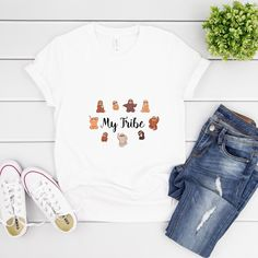 Funny Sloth Tshirt My Tribe Quote Unisex Tshirt Great Back To School Shirt Make You Smile, Are You Happy, Tribe Quotes, Funny Sloth, Sloths, School Shirts, Cool T Shirts, How Are You Feeling, Unisex