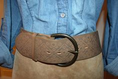 Gap tooled leather!