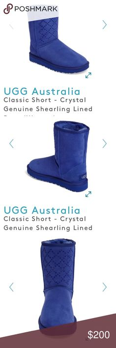 Ugg Boots NIB Classic Short Crystal Ugg Boots NIB Classic Short Crystal UGG Shoes Winter & Rain Boots