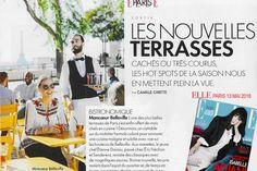 Nouvelles terrasses Paris par ELLE magazine, Moncoeur Belleville, avec vue sur Tout Paris