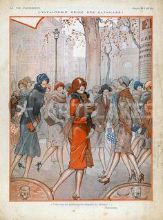 """La Vie Parisienne, 1925"" Picture art prints and posters by Advertising Archives - ARTFLAKES.COM"
