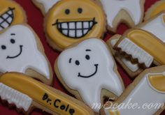 Cookies / Biscuits - Dentist cookies from http://www.flickr.com/photos/m5cake/with/6801540241/