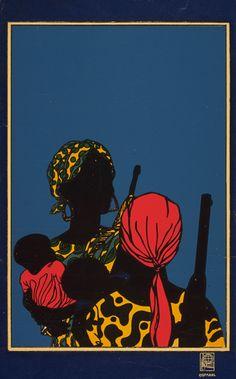 OSPAAL. Poster AFRICA – 1968 – Africa – Lázaro Abreu Padrón y Emory Douglas en La Habana, Cuba
