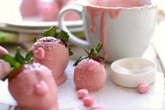 Pink chocolate.