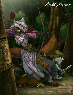 Maid Marian - Robin Hood | 19 Delightfully Macabre Disney Heroines