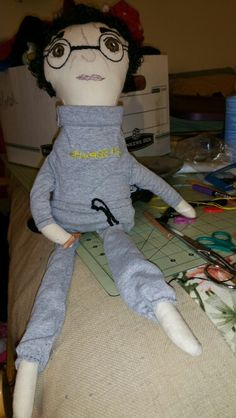 The papa doll completed.