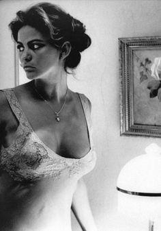 """ Claudia Cardinale in lingerie "" Claudia Cardinale: Italian actress. Carolyn Jones, Angela Jones, Claudia Cardinale, Hollywood Icons, Hollywood Stars, Classic Hollywood, Colleen Camp, Alexis Smith, Barbara Windsor"