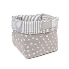 EVA & OLI  Storage box - Small - Grey....   Super cute I will have to steal the idea and make them myself!