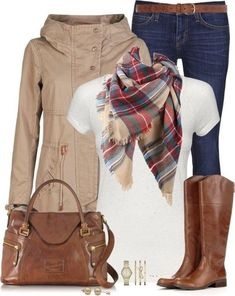 Classic fall outfit love the boots and bag look fashion, fashion mode Polyvore Outfits, Polyvore Fashion, Fall Winter Outfits, Autumn Winter Fashion, Winter Style, Spring Outfits, Mode Outfits, Casual Outfits, Casual Attire