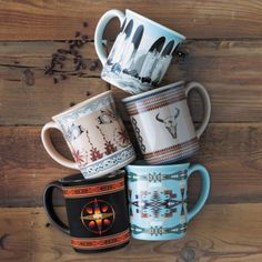 Pendleton Legendary Mugs - Coffee Is Life, Coffee Shop, Coffee Cups, Men Coffee, Coffee Art, Coffee Drinks, Western Decor, Western Chic, Western Art