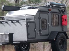 2019 Gen 3 Extended with Timbren Independent Suspension Road Shower and RotoPax Fuel Canister Lockable Front Box with Rack