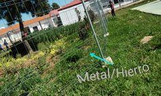 Foto realizada en el instituto Carolina Coronado Metal/Hierro