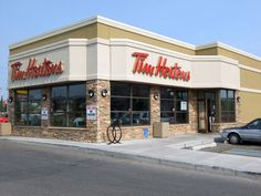 Tim Hortons...it's like the Dunkin' Donuts of Canada! :D