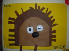 Cut and paste hedgehog – Knippen