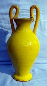 Sanford NC Pottery Ash Glaze Monkey Jug $100