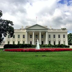 The White House in Washington, D.C. August 2005 arranged for private tour inside thru Congressman Sullivan office