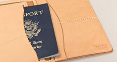 Passport wallet - maybe the best designed and most affordable yet.