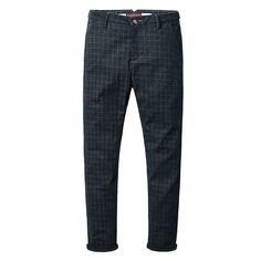 Casual Men Plaid Pants Material:82%Cotton, 15% polyester, 3% spandex