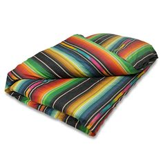 We took our favorite vintage serape and designed our psychedelic dream duvet. Made of 100% super soft cotton with a button envelope closure. Machine washable, tumble dry low.
