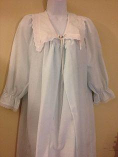 MOTHERHOOD Maternity BABY BLUE Nightgown m gown pajamas Size Petite Medium #Motherhood #RobeGownSets
