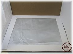 How to make a lightbox with a cardboard box. Easy!