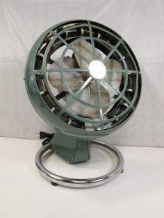 Large Marelli Oscillating Floor Fan Fan Vintage Fans