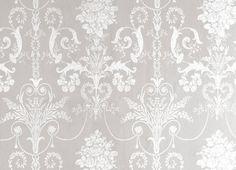 Lovely dove grey wallpaper
