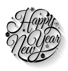 Happy new year typography. Text circle vector by sombatkapan on VectorStock® Happy new year typography. Text circle vector by sombatkapan on VectorStock® Happy New Year Letter, Happy New Year Text, Happy New Year Pictures, Happy New Year Quotes, Happy New Year Cards, Happy New Year Wishes, Happy New Year Greetings, Quotes About New Year, Happy New Year 2019