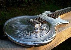 Heavy metal guitar...literally