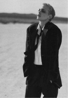 Marie Claire German - Sinn und Sinnlichkeit - Nadja Auermann - Jun 1996