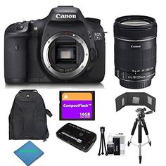 Canon EOS 7D 18 MP CMOS Digital SLR Camera With 18-135mm f/3.5-5.6 IS UD Standard Zoom Lens + sharpbuy$ Accessory...