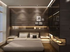 Modern Luxury Bedroom Inspirations - Home Design - lmolnar - Best Design and Decoration You Need Home Luxury, Modern Luxury Bedroom, Luxury Bedroom Design, Master Bedroom Design, Contemporary Bedroom, Luxurious Bedrooms, Luxury Hotels, Small Modern Bedroom, Small Bedroom Interior