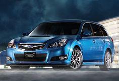 Subaru Legacy 2.5 GT tS STi Touring Wagon (BR) '2010–12