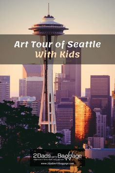Art Tour of Seattle With Kids - 2 Dads with Baggage Family Vacation Destinations, Best Vacations, Vacation Trips, Starbucks Locations, San Juan Islands, Outdoor Sculpture, Best Places To Travel, Wanderlust Travel, Baggage