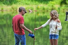 """not only do i love the outfit this girl wears in the music video but i love the song! """"fish"""" by Craig Campbell"""