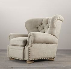 Churchill Recliner with Nailheads Plywood Furniture, Furniture Vanity, Steel Furniture, Living Room Furniture, Home Furniture, Living Room Decor, Fireplace Furniture, Modern Furniture, Stylish Recliners