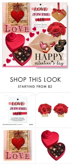 """""""Happy Valentine's Day!"""" by calamity-jane-always ❤ liked on Polyvore featuring interior, interiors, interior design, home, home decor, interior decorating, Godiva, valentinesday, valentines and homeset"""
