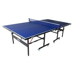 Ping pong table. I think we need this in the garage.
