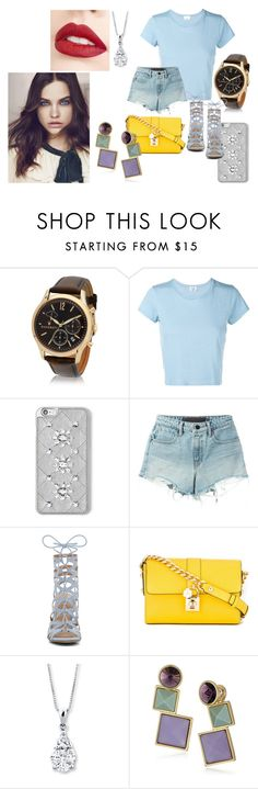 """Caminhos do coração"" by de-garbelini ❤ liked on Polyvore featuring Maserati, RE/DONE, MICHAEL Michael Kors, T By Alexander Wang, ALDO, Dolce&Gabbana, Rebecca Minkoff and Jouer"