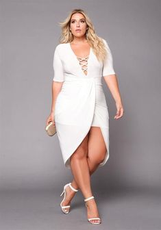 Manufacturers seem to forget that a female body just doesn't uniformly increase in size so just making another garment in a larger size but with the same proportions doesn't work. So, clothing brands should design plus size outfits specifically keeping a plus size body in mind.
