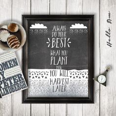 Always Do Your Best Inspirational Quote Wall Decor By Helloam 5 00