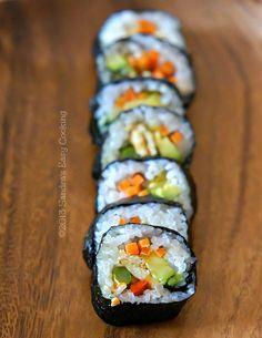 Kimbap recipe - customizable for kids!