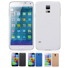 """PXFONE 1:1 S5 5.1"""" Android 4.3 MTK6572 Dual-Core Quad Band 3G Smartphone w/ Bluetooth WiFi (512MB+4GB) - Assorted Color"""