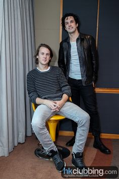 Ylvis Brothers Bård and Vegard Ylvisåker Hongkong