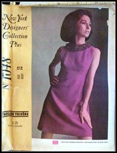 McCall's 1048  NY Designer's Collection Plus  by ThePatternShopp, $30.00