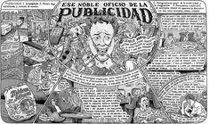 Ese noble oficio de la publicidad. Ilustración por Miguel Brieva