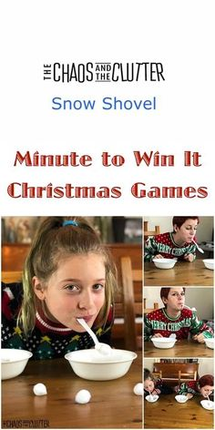 Minute To Win It Games Christmas, Fun Family Christmas Games, Xmas Games, Family Party Games, Holiday Games, Christmas Party Games, Birthday Party Games, Games For Kids Party, Minute To Win It Games For Teens