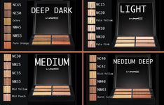 MAC Pro Conceal & Correct Palette + Product Explanation