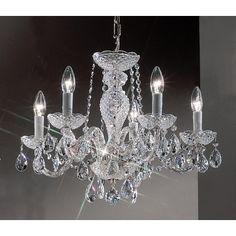 Classic Lighting Monticello 5 Light Chandelier & Reviews   Wayfair